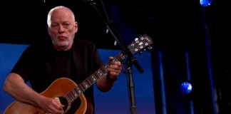 David Gilmour no programa de Jimmy Kimmel