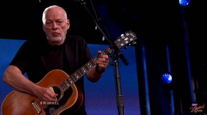 David Gilmour no programa de Jimmy Kimmel
