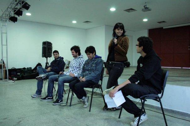 Debate sobre a cena hardcore organizado pelo Diário de Palco e pelo Espaço Jovem de São Caetano do Sul, realizado em 2009