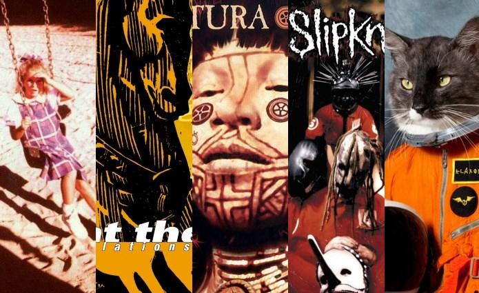Discos produzidos por Ross Robinson (KoRn, At The Drive-In, Sepultura, Slipknot, Klaxons)