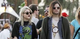 Frances Bean Cobain e Isaiah Silva
