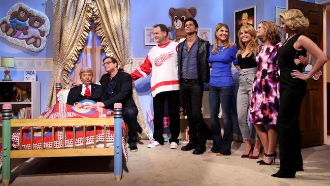 Full House e Donald Trump no Jimmy Fallon