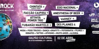 Grito Rock Goytacá acontece no dia 02/04