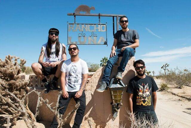 Hellbenders no Rancho de La Luna