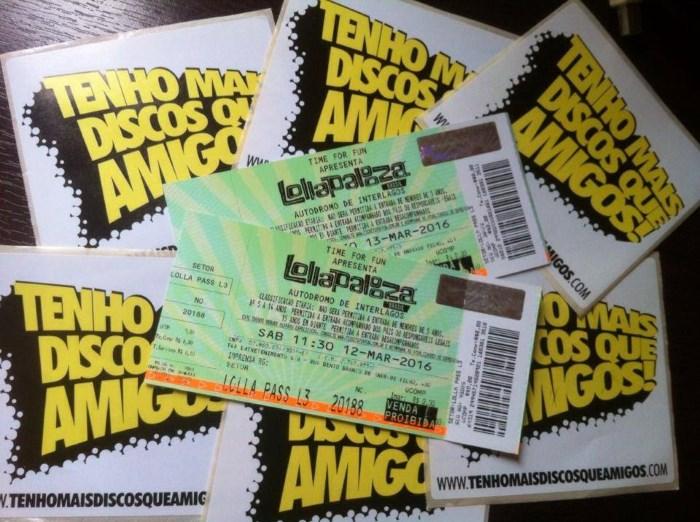 Promoção de ingressos para o Lollapalooza Brasil 2016