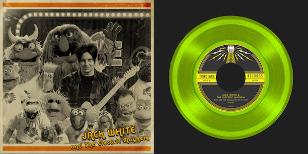 Jack White e Muppets em vinil