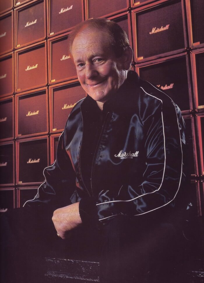 Jim Marshall, inventor dos amplificadores Marshall