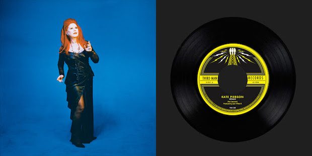 Kate Pierson em vinil da Third Man Records