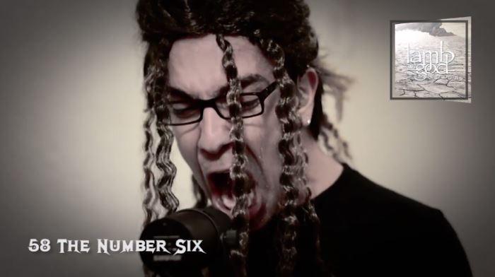 Fã grava 75 músicas dos 7 discos do Lamb Of God em vídeo