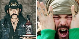Lemmy Kilmister e Max Cavalera