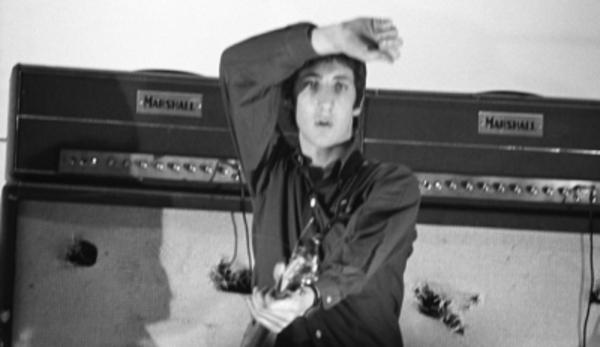 Pete Townshend do The Who e o amplificador Marshall JTM45 100