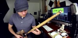Rob Scallon toca Rage Against The Machine com uma pá - vídeo