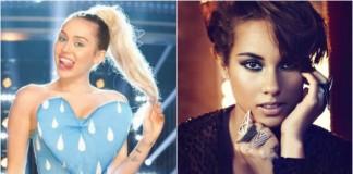 Miley Cyrus e Alicia Keys serão as novas juradas de The Voice