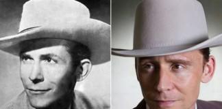 Tom Hiddleston como Hank Williams