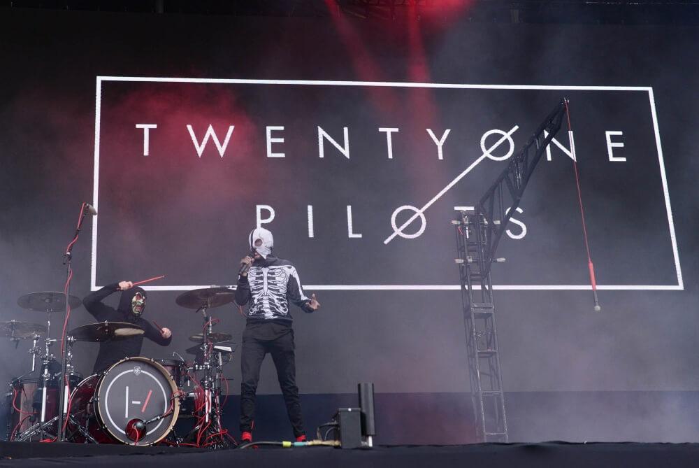 Twenty One Pilots no Lollapalooza Brasil