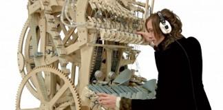 Wintergatan - integrante constrói máquina de música