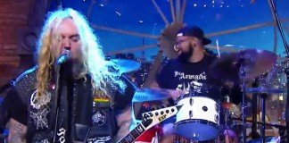 Soulfly no The Noite com Danilo Gentili