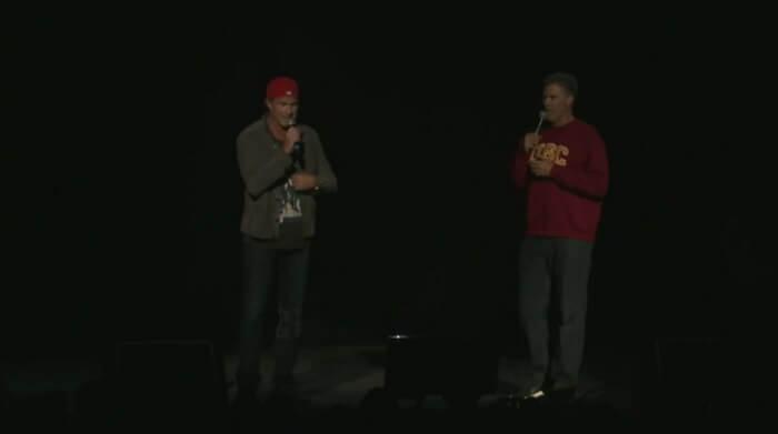 Chad Smith e Will Ferrell