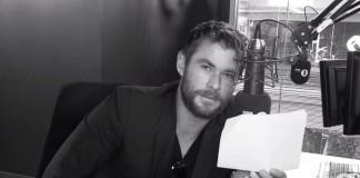 """Chris Hemsworth faz leitura dramática de """"Work"""", da Rihanna"""