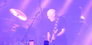 David Gilmour toca Purple Rain do Prince