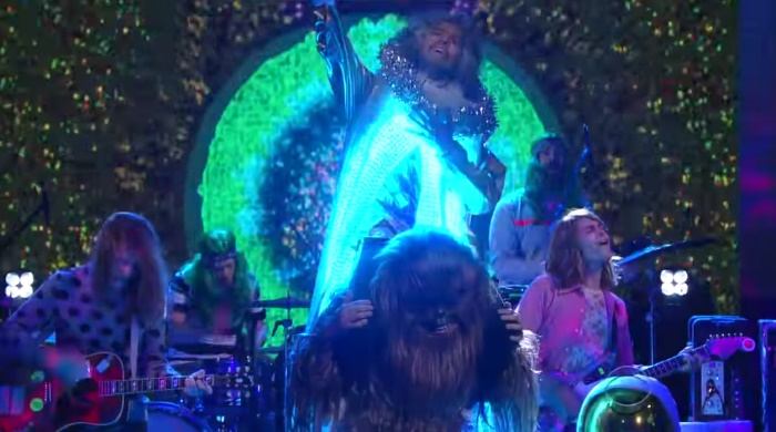 The Flaming Lips no Stephen Colbert