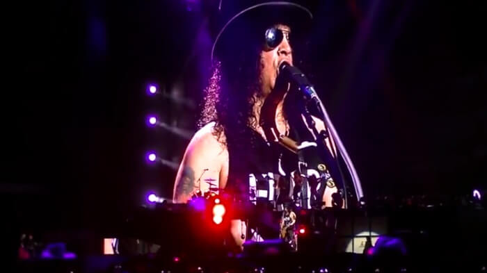 Guns N' Roses no México: vídeos, setlists