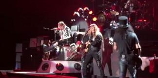 Guns N' Roses com Sebastian Bach