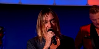 Iggy Pop no Jimmy Kimmel