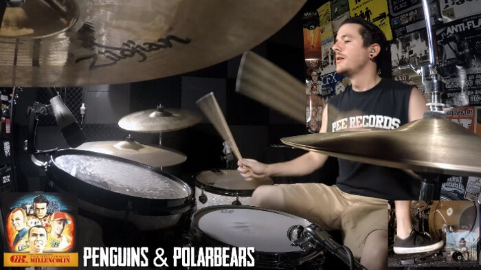 Kye Smith, baterista, regrava discografia do Millencolin