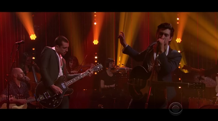 The Last Shadow Puppets no James Corden