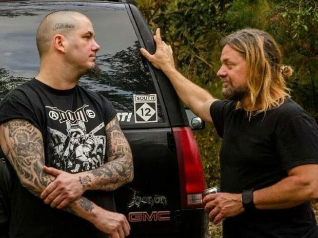Phil Anselmo e Pepper Keenan, do Down