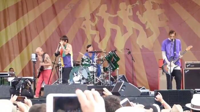 Red Hot Chili Peppers no New Orleans Jazz Festival