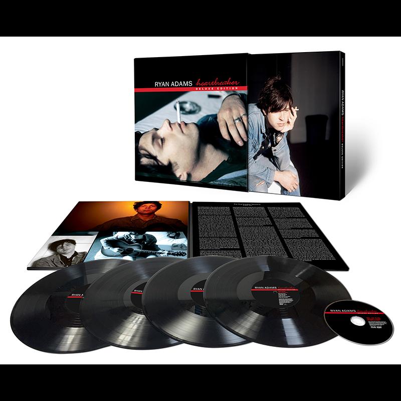 """edição deluxe do primeiro disco de ryan adams, """"heartbreaker"""", será lançada em maio"""