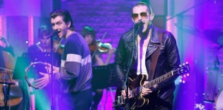 The Last Shadow Puppets no Seth Meyers