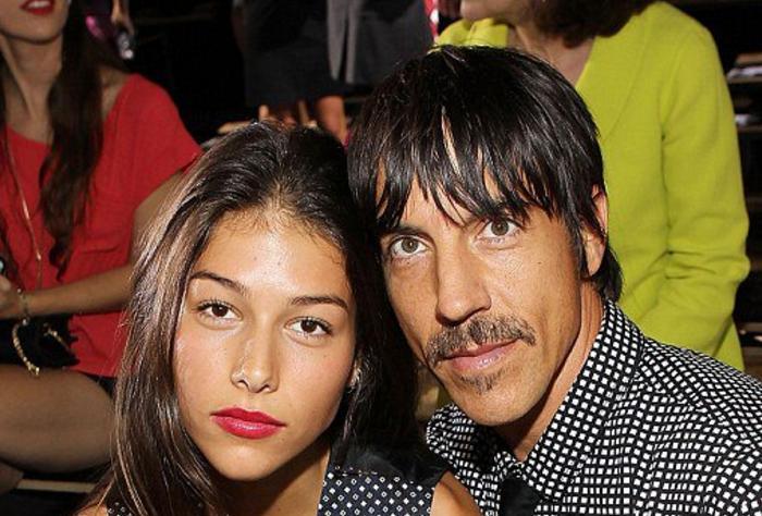 Anthony Kiedis E Namorada Que Inspirou Músicas Do Red Hot Chili Peppers