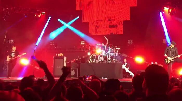 Blink-182 no KROQ Weenie Roast 2016
