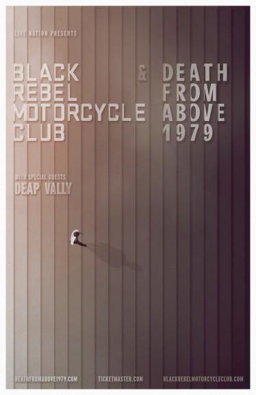 black rebel motorcycle club e death from above 1979 anunciam turnê pelos estados unidos