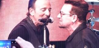 Bruce Springsteen e Bono