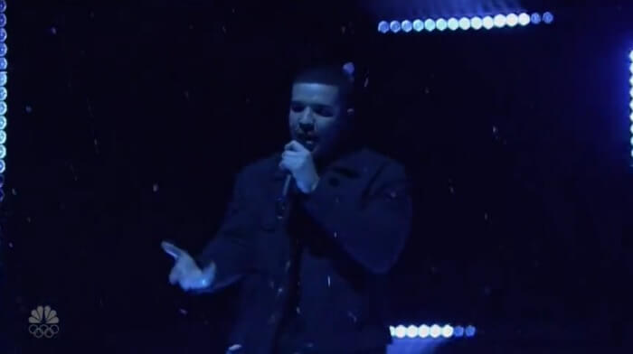 Drake no Saturday Night Live