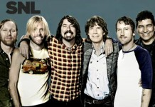 Foo Fighters e Mick Jagger