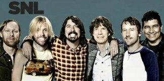 Foo Fighters e Mick Jagger