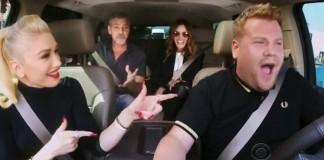 George Clooney, Gwen Stefani, Julia Roberts com James Corden