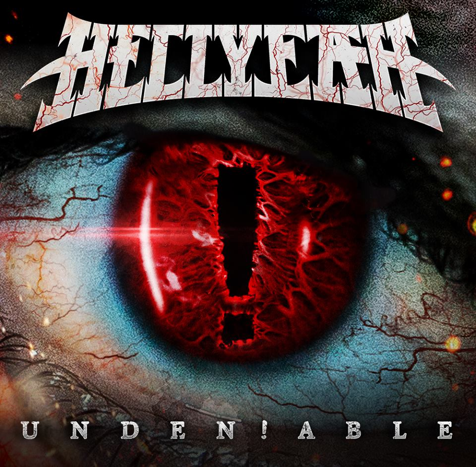 """capa do novo disco do hellyeah, """"unden!able"""""""