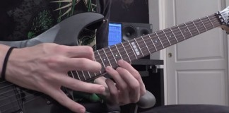 Guitarrista grava ringtone do iPhone em versão Heavy Metal