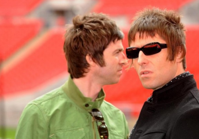 Liam Gallagher e Noel Gallagher