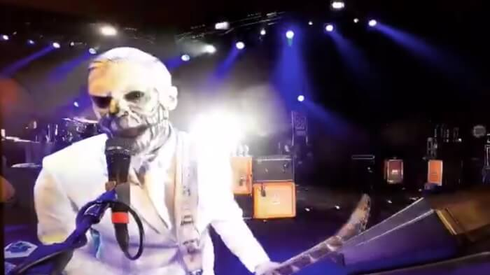 Wes Borland do Limp Bizkit no Chile