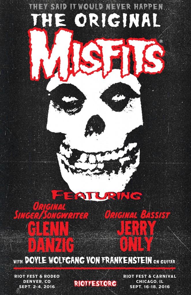 Misfits no Riot Fest