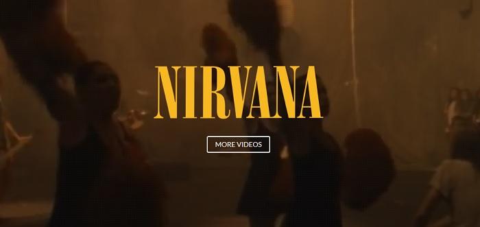 Novo site do Nirvana