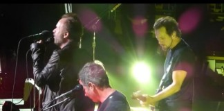 Pearl Jam e Sting no Madison Square Garden