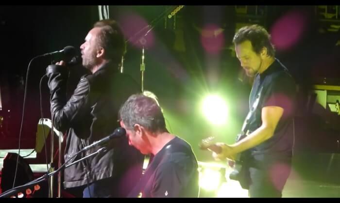 Pearl Jam e Sting no Madison Square Garden